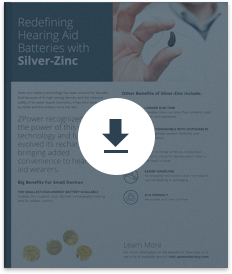 Redefining Hearing Aid sBatteries with Silver-Zinc Download