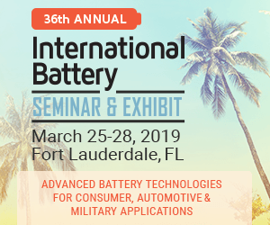 ZPower to Feature the Smallest, Highest Energy, Rechargeable Microbattery at International Battery Seminar