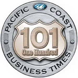 Pacific Coast Business Times 101 Award