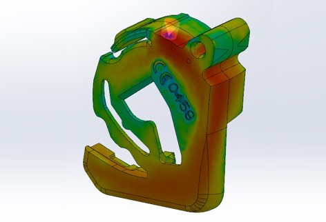Battery Manufacturing - FEA & Mold Flow Simulations